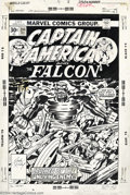 Original Comic Art:Covers, Jack Kirby and Frank Giacoia - Original Cover Art for CaptainAmerica #204 (Marvel, 1977). Captain America and the Falcon ar...