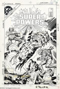 Original Comic Art:Covers, Jack Kirby and Mike Royer - Original Cover Art for Super Powers #1(DC, 1984). Jack Kirby draws the classic DC super-villain...
