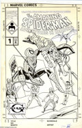 Original Comic Art:Covers, Allen Kupperberg - Original Cover Art for Amazing Spider-Man:Adventures in Reading #1 (Marvel, 1991). This nifty Spider-Man...