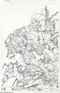 Original Comic Art:Covers, Ken Lashley - Original Cover Art for 10th Muse #5 Savage Dragon andMuse (Image, 2001). The Muse -- a character based on the...