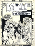 "Original Comic Art:Covers, Sheldon Moldoff - Original Cover Art for Batman #157 (DC, 1963).Looks like ""helpful"" Vicki Vale is about to assist Mirror M..."