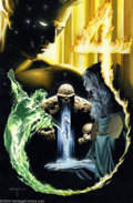Original Comic Art:Covers, Alex Ross and Brent Anderson - Original Cover Art for FantasticFour: Universe X #4 (Marvel, 2000). Alex Ross painted this i...