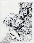 Original Comic Art:Sketches, Bruce Timm - Original Sketch of Doc Savage (undated)....
