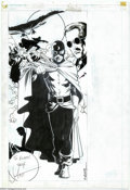 Original Comic Art:Splash Pages, Matt Wagner and Romeo Tanghal - Original Art for Who's Who: TheDefinitive Directory to the DC Universe #6 (DC, 1985). When ...