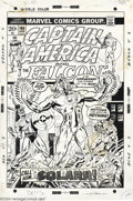 Original Comic Art:Covers, Gil Kane, Alan Weiss, and Frank Giacoia - Original Cover Art forCaptain America #160 (Marvel, 1973). Captain America and th...