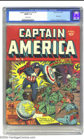 Golden Age (1938-1955):Superhero, Captain America Comics #2 (Timely, 1941) CGC FN/VF Off-white pages. Adolf returns for his second consecutive cover appearanc...