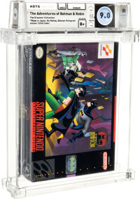 The Adventures of Batman & Robin - Wata 9.0 B+ Sealed [Made in Japan] (The Dreamer Collection), SNES Konami 1994 USA...