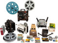 Movie/TV Memorabilia:Film, Massive Collection of (12) Film Projectors and (125+) Vintage 8mm & 16mm Commercial Films (1960s-2000s). ... (Total: ...