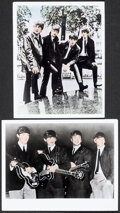 """Movie Posters:Rock and Roll, The Beatles Lot (c. 1964). Very Fine-. Photos (7) (8"""" X 10""""). Rock and Roll.. ... (Total: 7 Items)"""