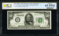Small Size:Federal Reserve Notes, Fr. 2101-E $50 1928A Federal Reserve Note. PCGS Banknote Gem Unc 65 PPQ.. ...