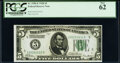 Small Size:Federal Reserve Notes, Fr. 1950-E $5 1928 Federal Reserve Note. PCGS New 62.. ...