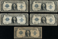 Fr. 237 $1 1923 Silver Certificates Very Good-Fine (2); Fr. 238 $1 1923 Silver Certificate Very Good or Better (3)...