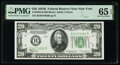 Small Size:Federal Reserve Notes, Fr. 2056-B $20 1934B Federal Reserve Note. PMG Gem Uncirculated 65 EPQ.. ...