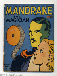 Mandrake the Magician - Feature Book #19 (King Features Syndicate, 1938) Condition: GD. This is an oversized comic with...