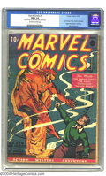 Golden Age (1938-1955):Superhero, Marvel Comics #1 (Timely, 1939) CGC FR/GD 1.5 Off-white to white pages. If you're like most of us, you haven't quite saved u...