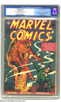 Marvel Comics #1 (Timely, 1939) CGC FR/GD 1.5 Off-white to white pages. If you're like most of us, you haven't quite sav...