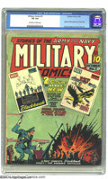 Golden Age (1938-1955):War, Military Comics #3 (Quality, 1941) CGC VG 4.0 Off-white to whitepages. This comic contains early adventures of those freela...