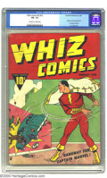 Golden Age (1938-1955):Superhero, Whiz Comics #2 (#1) (Fawcett, 1940) CGC FN- 5.5 Off-white to white pages. The Lambert Collection affords yet another super-k...