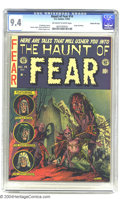 Golden Age (1938-1955):Horror, Haunt of Fear #14 Gaines File pedigree 4/12 (EC, 1952) CGC NM 9.4Off-white to white pages. This comic is not only from the ...