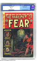 Golden Age (1938-1955):Horror, Haunt of Fear #22 Gaines File pedigree 1/12 (EC, 1953) CGC NM- 9.2White pages. This prized copy from publisher Bill Gaines'...