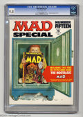 Magazines:Mad, Mad Special #15 (EC, 1974) CGC NM/MT 9.8 Off-white to white pages. If you think you can find a nicer copy than this slice of...