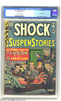 Golden Age (1938-1955):Horror, Shock SuspenStories #1 (EC, 1952) CGC VG+ 4.5 Cream to off-whitepages. Jack Kamen, Graham Ingels, and Joe Orlando art. Over...