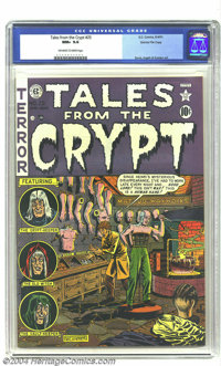 Tales From the Crypt #25 Gaines File pedigree 3/12 (EC, 1951) CGC NM+ 9.6 Off-white to white pages. You've got to hand i...