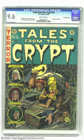 Golden Age (1938-1955):Horror, Tales From the Crypt #29 Gaines File pedigree 3/12 (EC, 1952) CGCNM+ 9.6 Off-white pages. Jack Davis nails this chilling co...
