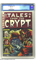 Golden Age (1938-1955):Horror, Tales From the Crypt #35 Northford pedigree (EC, 1953) CGC NM+ 9.6Off-white pages. As everyone should know by now, creeping...