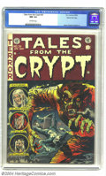 Golden Age (1938-1955):Horror, Tales From the Crypt #35 Gaines File pedigree 8/11 (EC, 1953) CGCNM 9.4 Off-white pages. This is the classic Jack Davis...