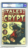 Golden Age (1938-1955):Horror, Tales From the Crypt #43 Gaines File pedigree 2/12 (EC, 1954) CGCNM 9.4 Off-white to white pages. Jack Davis drops in for a...