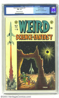 Golden Age (1938-1955):Science Fiction, Weird Science-Fantasy #24 Gaines File pedigree 9/12 (EC, 1954) CGCNM+ 9.6 Off-white to white pages. Beneath the cover for t...