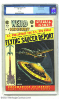Golden Age (1938-1955):Science Fiction, Weird Science-Fantasy #26 Gaines File pedigree 3/12 (EC, 1954) CGCNM 9.4 White pages. With a Flying Saucer Report feature a...