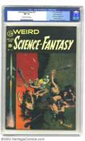Golden Age (1938-1955):Science Fiction, Weird Science-Fantasy #29 Gaines File pedigree 3/12 (EC, 1955) CGCNM 9.4 Off-white to white pages. Classic cover by Frank F...