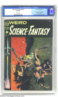Golden Age (1938-1955):Science Fiction, Weird Science-Fantasy #29 (EC, 1955) CGC VF 8.0 Off-white pages.EC's sci-fi title would undergo a name change and a New Dir...