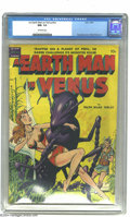 Golden Age (1938-1955):Science Fiction, An Earth Man on Venus #nn (Avon, 1951) CGC NM- 9.2 Off-white pages.Man vs. giant insects was a popular theme of the Atomic ...