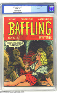 Baffling Mysteries #8 Spokane pedigree (Ace, 1952) CGC VF/NM 9.0 Off-white to white pages. How would you feel about bein...