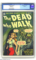 Golden Age (1938-1955):Horror, The Dead Who Walk #nn Northford pedigree (Realistic Comics, 1952)CGC VF/NM 9.0 Cream to off-white pages. When it comes to t...