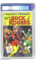 Golden Age (1938-1955):Science Fiction, Famous Funnies #209 (Eastern Color, 1953) CGC NM 9.4 Cream tooff-white pages. The most enduring of all sci-fi and fantasy a...