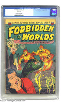 Golden Age (1938-1955):Science Fiction, Forbidden Worlds #2 (ACG, 1951) CGC NM 9.4 Off-white to whitepages. Here's a seldom seen comic that should have some real i...
