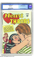 Golden Age (1938-1955):Romance, Heart Throbs #2 Mile High pedigree (Quality Comics, 1949) CGC NM 9.4 Off-white to white pages. A great Bill Ward cover and n...