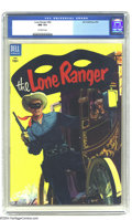 Golden Age (1938-1955):Western, The Lone Ranger Group (Dell, 1955-56) CGC Average NM 9.4. This NearMint group includes #82, 87, 90, and 92, all with gorgeo... (Total:4 Comic Books Item)
