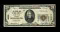 National Bank Notes:Vermont, Chelsea, VT - $20 1929 Ty. 1 The NB of Orange County Ch. # 4929. ...