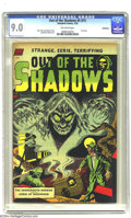 Golden Age (1938-1955):Horror, Out Of The Shadows #5 Bethlehem pedigree (Standard, 1952) CGC VF/NMOff-white pages. First issue of this wild title, with a ...