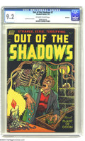 Golden Age (1938-1955):Horror, Out Of The Shadows #7 (Standard, 1953) CGC NM- 9.2 Off-white towhite pages. Artist Jack Katz, known to a later generation o...
