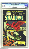 Golden Age (1938-1955):Horror, Out Of The Shadows #13 Bethlehem pedigree (Standard, 1954) CGC VF+8.5 Off-white to white pages. This gruesome little comic ...