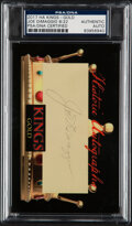 Autographs:Index Cards, Joe DiMaggio Signed Cut, PSA/DNA. Offered is a cut...