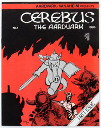 Cerebus the Aardvark #1 Counterfeit (No Publisher Listed, No Date) Condition: FN