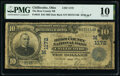 Chillicothe, OH - $10 1902 Date Back Fr. 616 The Ross County National Bank Ch. # (M)1172 PMG Very Good