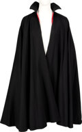 Movie/TV Memorabilia:Costumes, Leslie Nielson Screen Worn Cape from Dracula: Dead and Loving It (Columbia, 1995)......